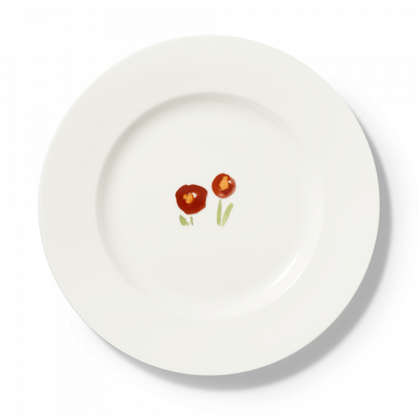 Charger Plate Red poppy (31cm)
