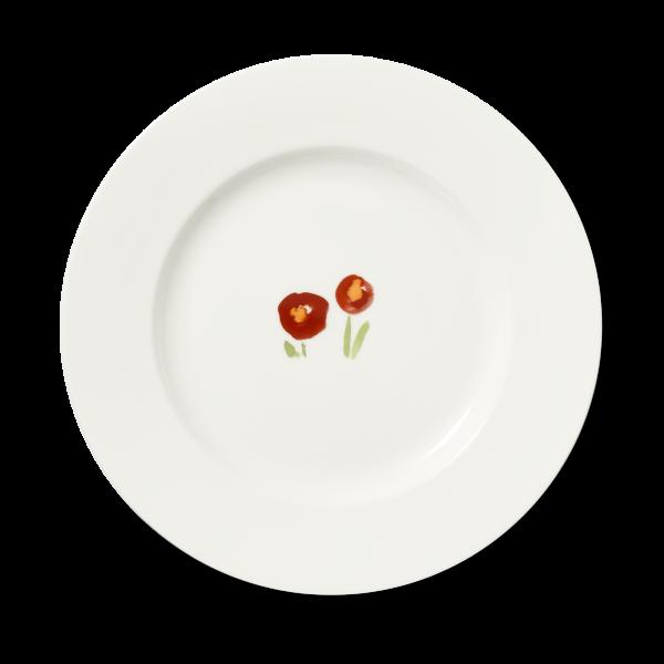 Platzteller Mohn rot (31cm)