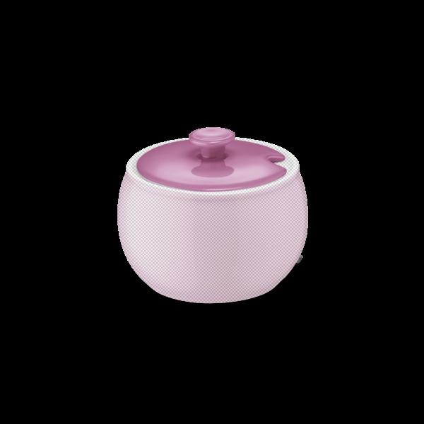 Deckel für Zuckerdose Pink