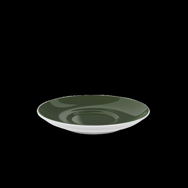 Kaffee Untertasse Russischgrün (14,5cm)