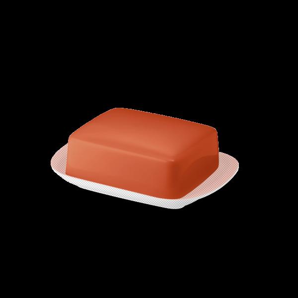 Butterdose Oberteil Koralle