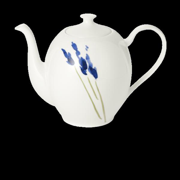 Kaffeekanne ohne deckel rund 1,40 l blau