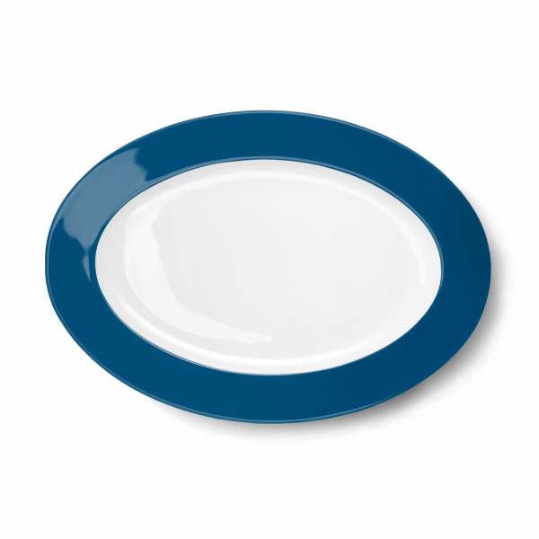Oval Platter Pacific Blue (33cm)