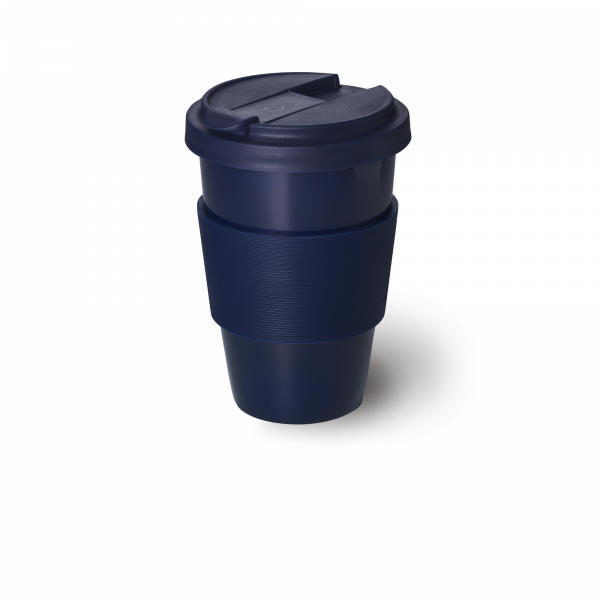 Solid Color Coffee-To-Go Cup Navy (0,35l)