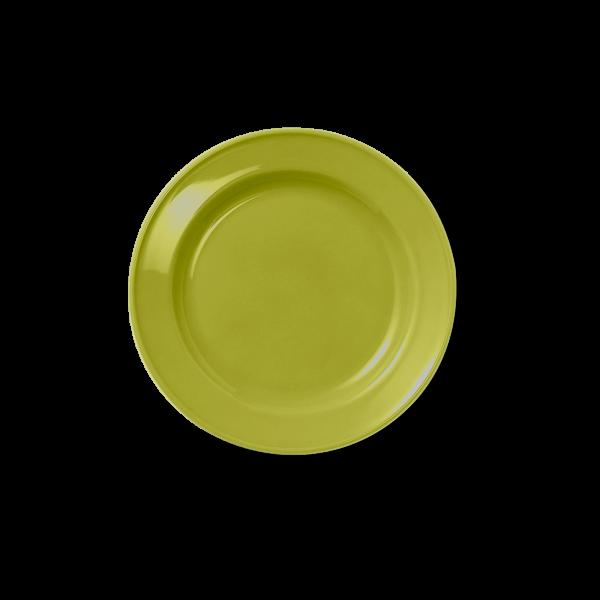 Dessert Plate full decor Olive Green (19cm)
