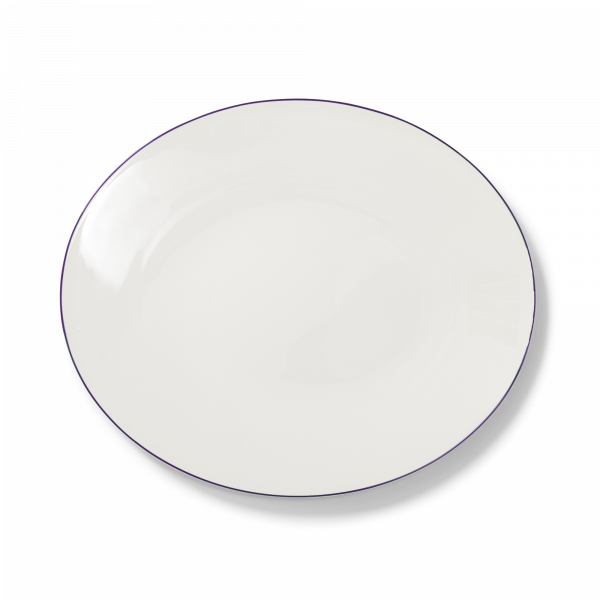 Ovale Platte Violett (39cm)