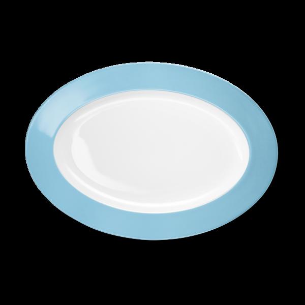 Oval Platter Sky blue (33cm)