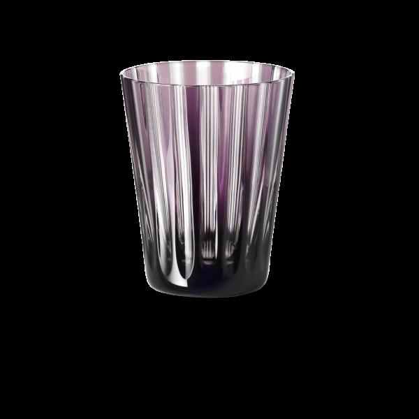 Glas 0,33 l lila stripes