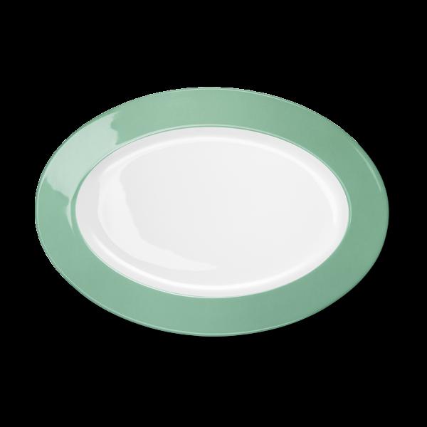 Oval Platter Emerald (33cm)