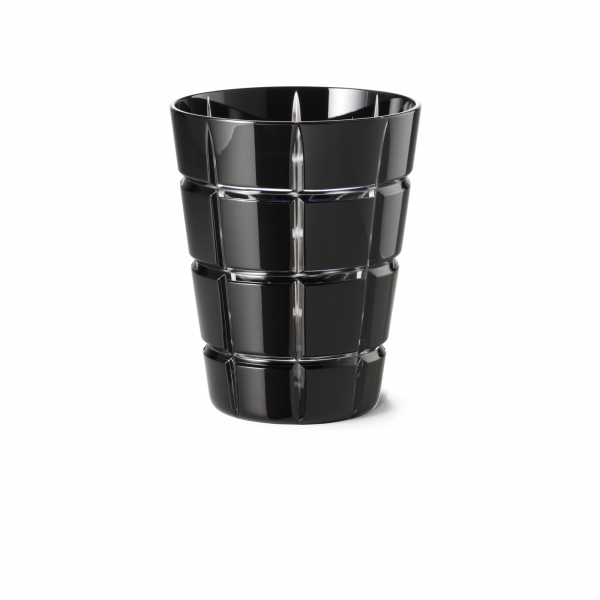 Glas 0,33 l schwarz squares