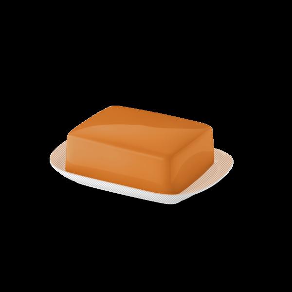 Butterdose Oberteil Orange