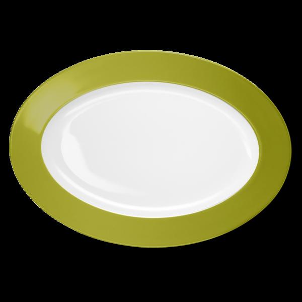 Ovale Platte Oliv (36cm)
