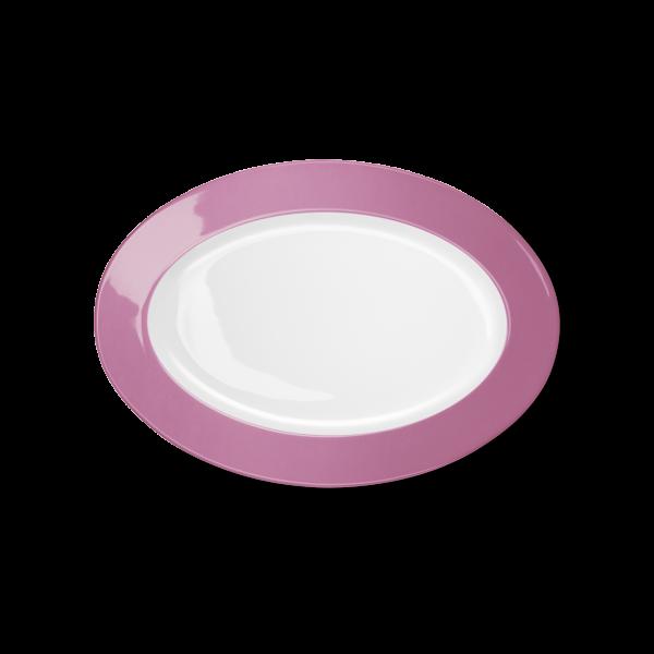 Oval Platter Pink (29cm)