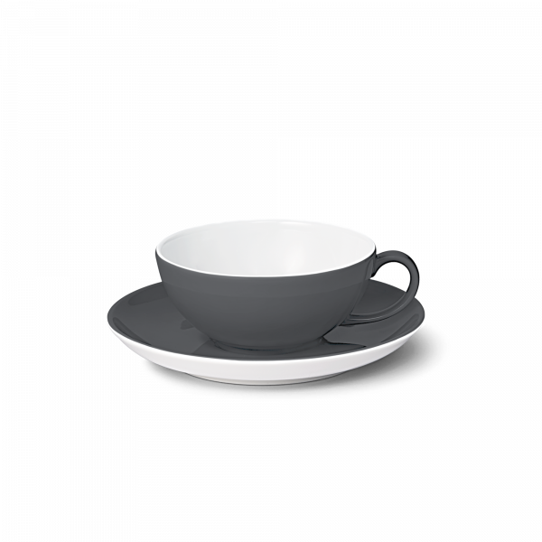 Set Tea cup Anthracite (0,22l)