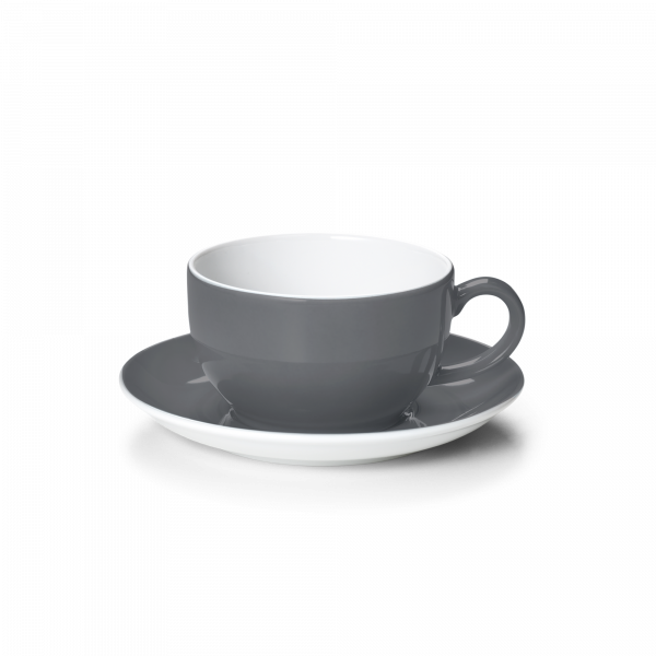 Set Cappuccinotasse Anthrazit (0,3l)