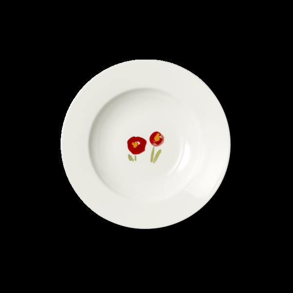 Suppenteller Mohn (23cm)