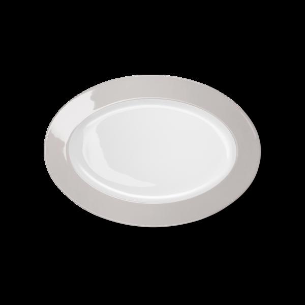 Oval Platter Pearl (29cm)