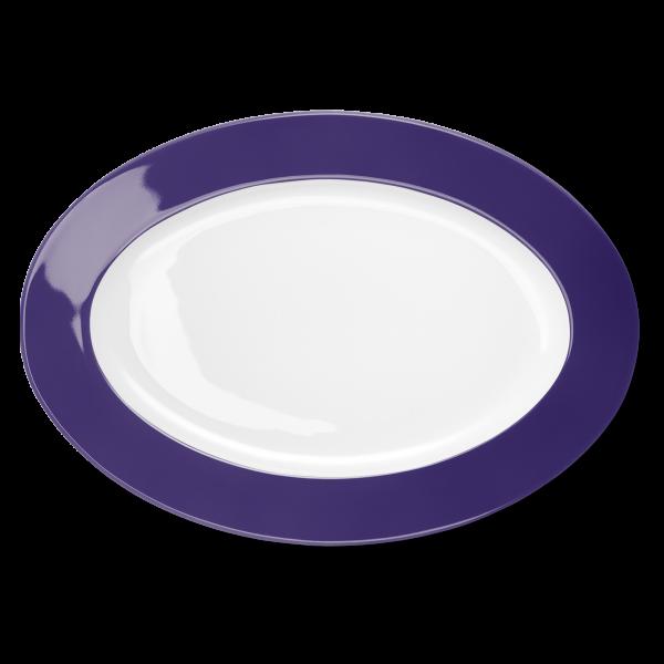 Oval Platter Violet (36cm)