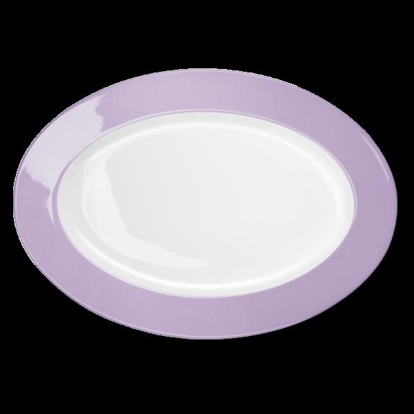 Ovale Platte Flieder (36cm)