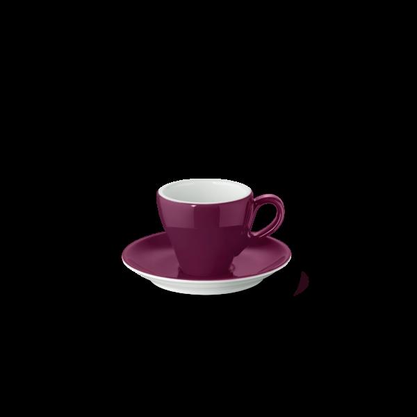 Set Espresso cup Bordeaux (0,09l)