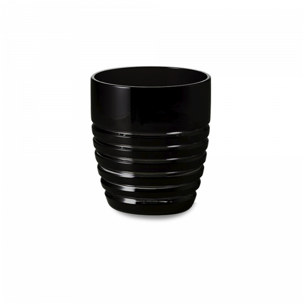 Glas 0,25 l schwarz