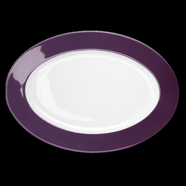 Oval Platter Plum (36cm)