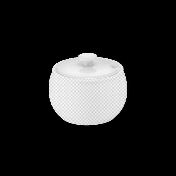Deckel für Zuckerdose Weiß