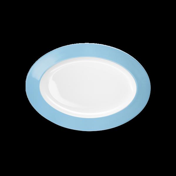 Oval Platter Sky blue (29cm)