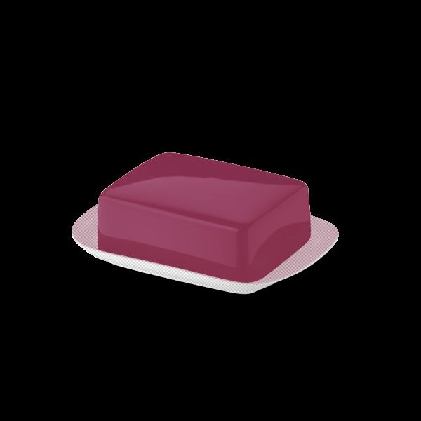 Butterdose Oberteil Himbeere