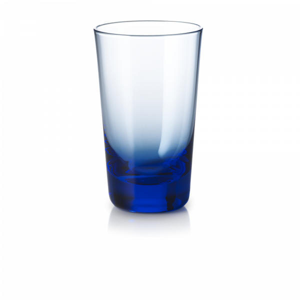 Glas 0,25 l azurblau
