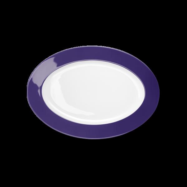 Oval Platter Violet (29cm)