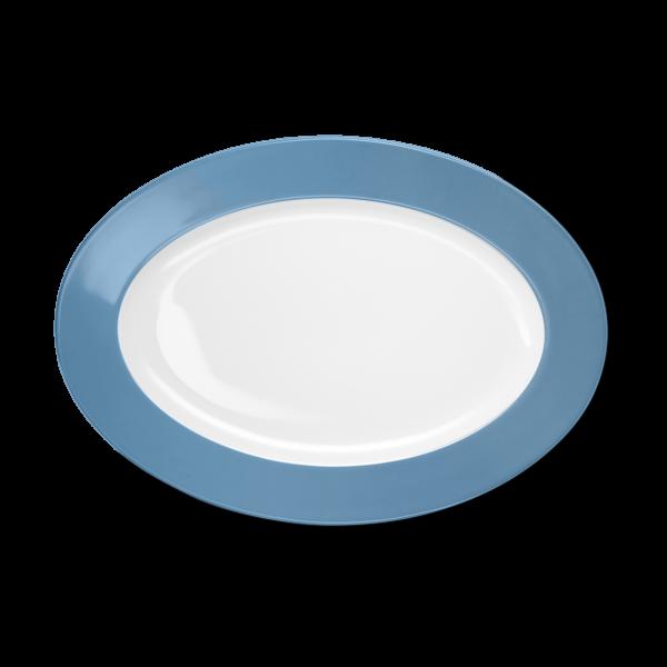 Oval Platter Vintage Blue (33cm)