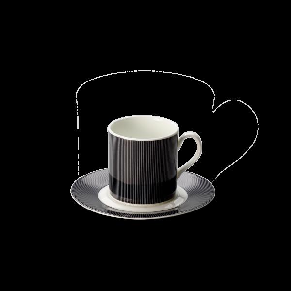 Set Espressotasse Anthrazit (0,11l)