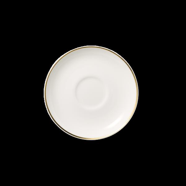 Kaffee Untertasse Gold (15cm)
