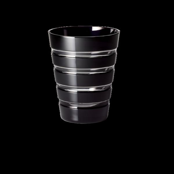 Glas 0,33 l schwarz horizontal