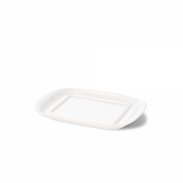 Base of butter dish white