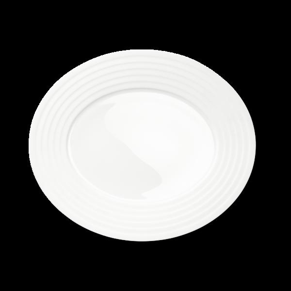 Ovale Platte (Relief) (39cm)