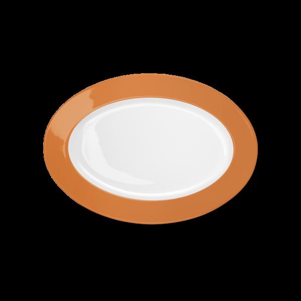 Oval Platter Orange (29cm)