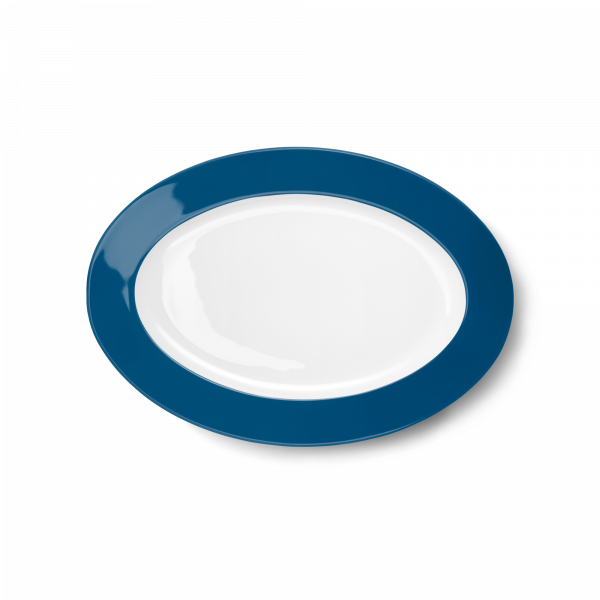 Oval Platter Pacific Blue (29cm)
