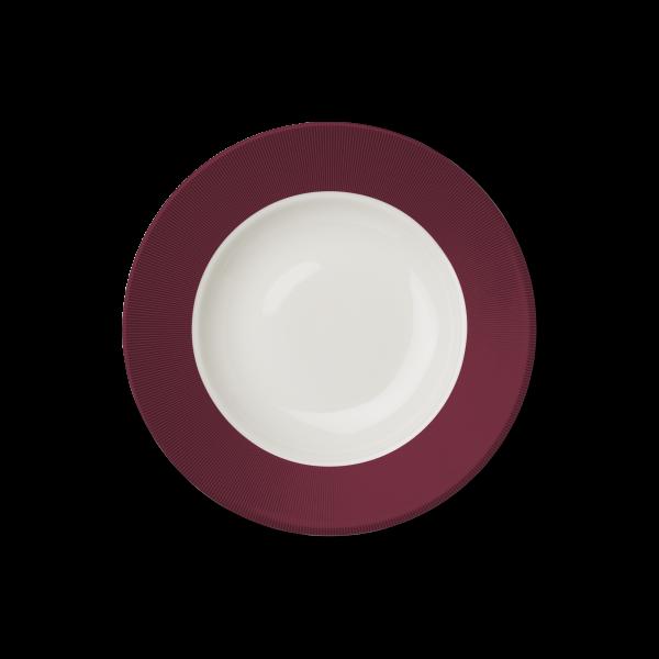 Suppenteller Bordeaux (25cm)